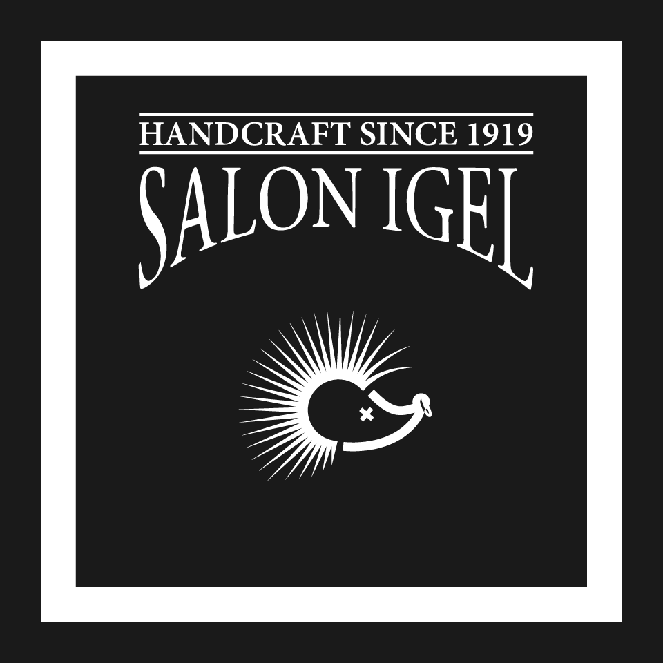 salon igel typography